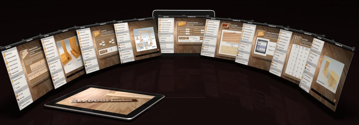 Woodmaster Woodworking App For Iphone Android And Ipad Woodmasterhd For Ipad